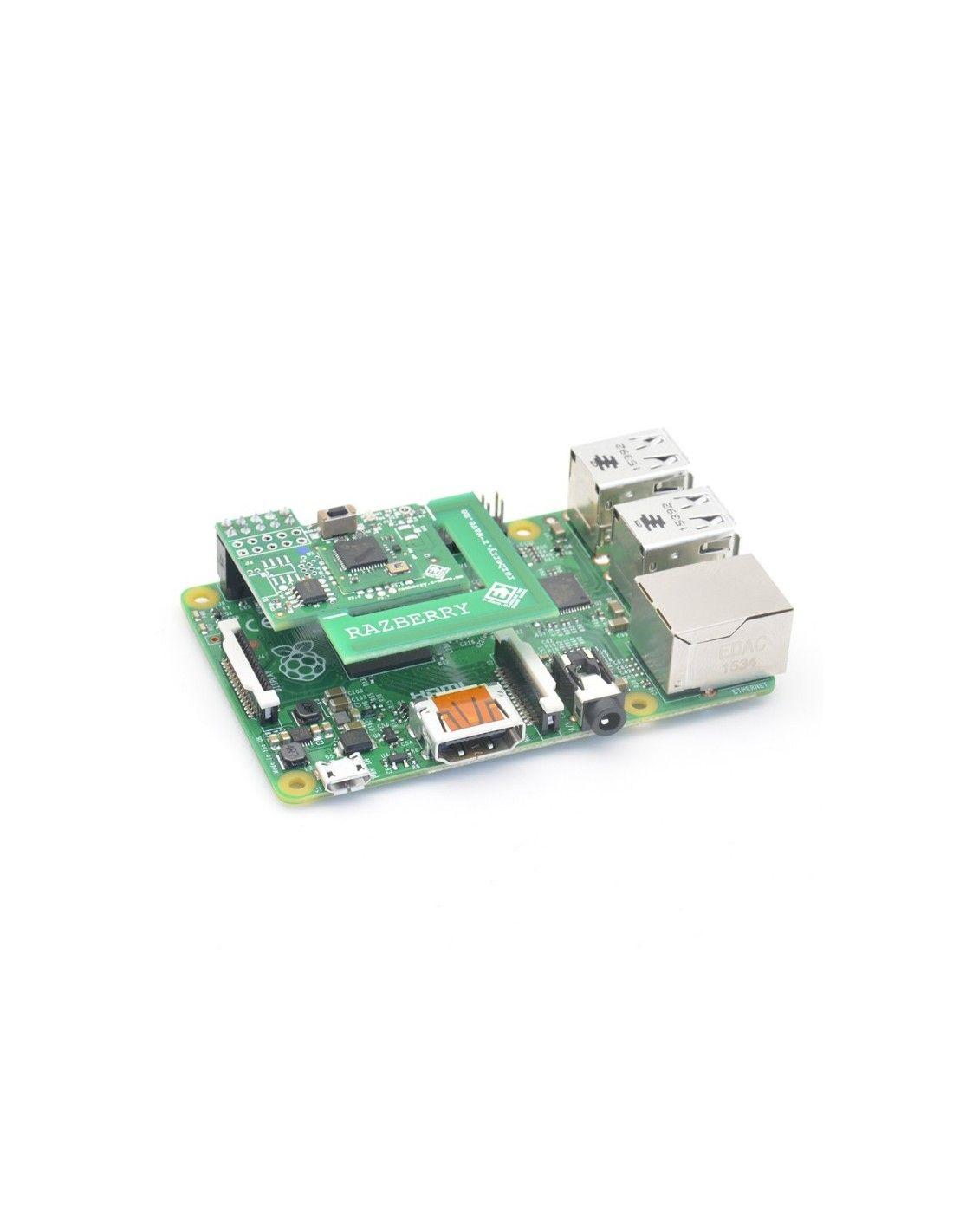 Z Wave Me Carte D Extension Razberry 2 Z Wave Pour Raspberry Pi