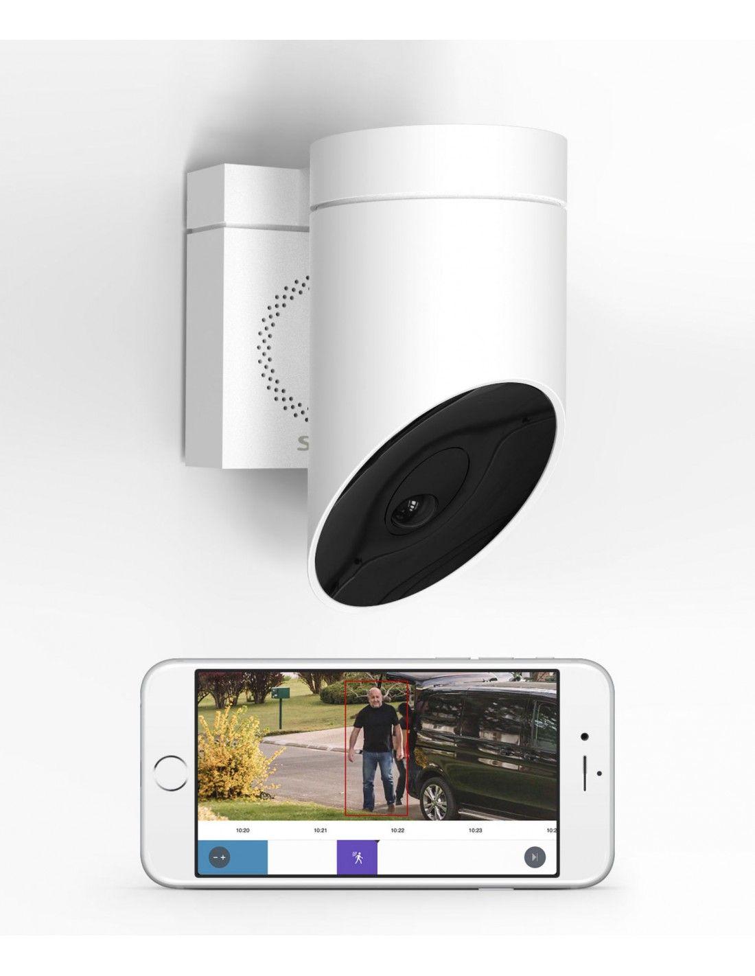 somfy cam ra ext rieure grise somfy outdoor camera. Black Bedroom Furniture Sets. Home Design Ideas