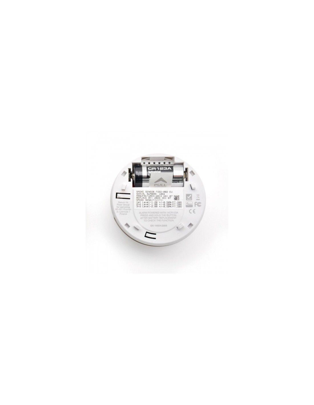 Fibaro Smoke Detecter Z Wave Plus Fgsd 002