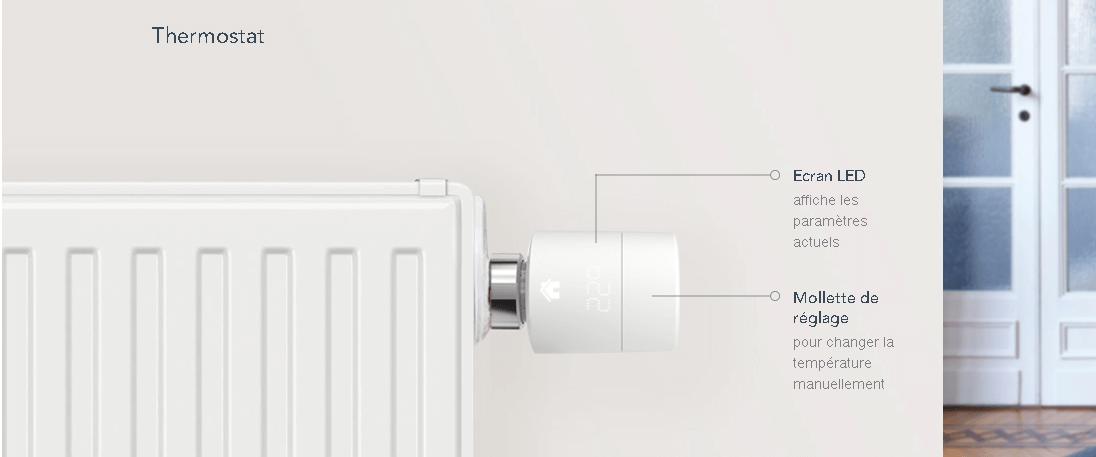 tado t te thermostatique intelligente v3 ch. Black Bedroom Furniture Sets. Home Design Ideas